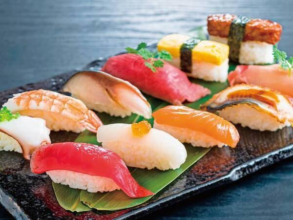 2021年6~8月は豪華寿司フェアを開催/にぎり寿司