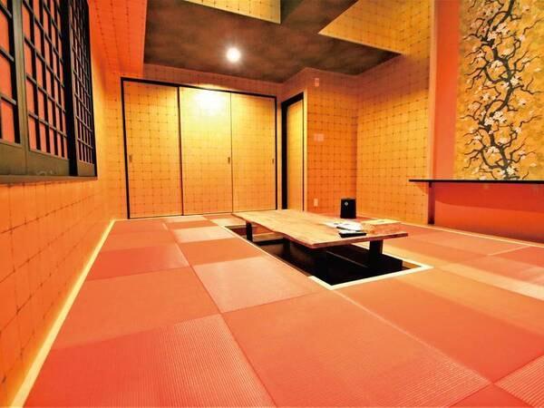 【金の部屋】リビングスペース 14畳の広々空間