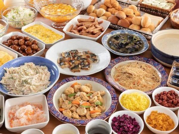 【朝食バイキング/例】日替わりの総菜をご用意