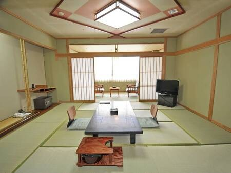 10畳+6畳の2間続き和室/例