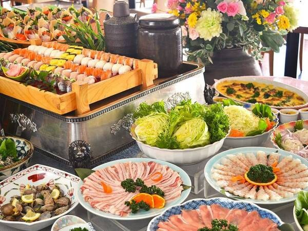 和洋中★特選50種バイキング/12~2月のお料理例