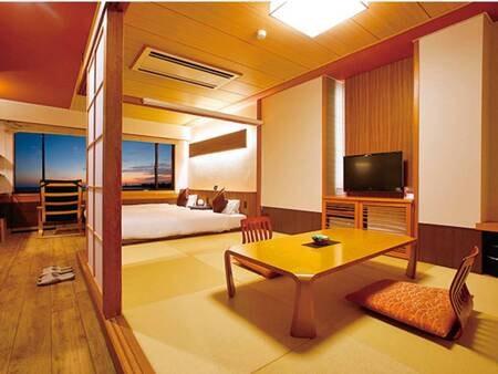 海側和洋室/全景例
