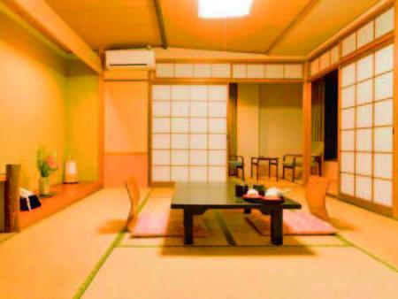 夕食会場食!寛ぎの和室へご案内/例