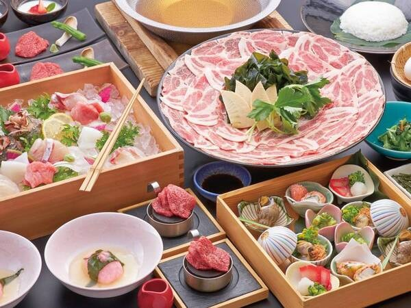 旬を味わう和食会席/2月末までの一例
