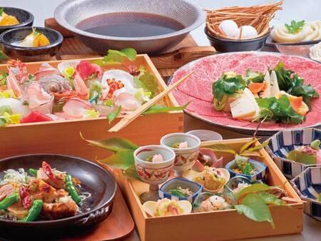 旬を味わう和食会席/3~5月の一例
