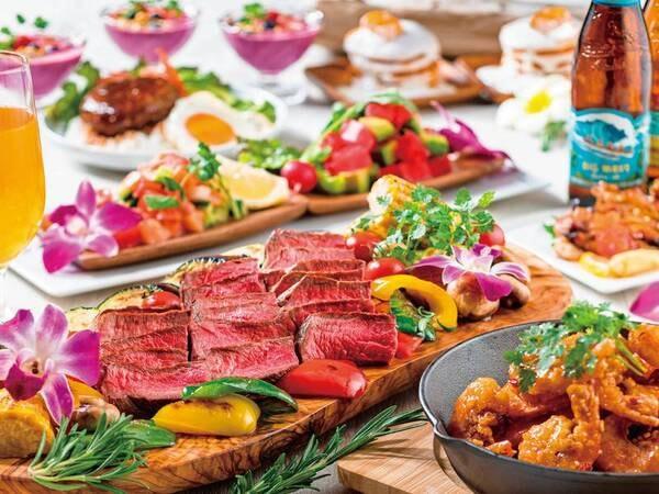 6~8月はハワイアンフェアを開催/料理例