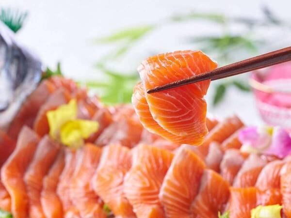 【9/1~11/30】秋の料理フェア 舟盛(まぐろ、鯛、サーモン、甘えび) ※イメージ