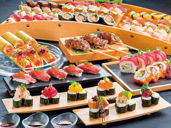 2021年6~8月は豪華寿司フェアを開催/料理例