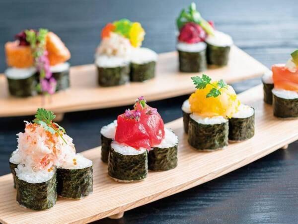 2021年6~8月は豪華寿司フェアを開催/飾り寿司