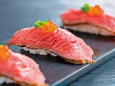 2021年6~8月は豪華寿司フェアを開催/ローストビーフ寿司