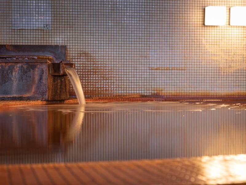 こんなに高濃度の成分が含まれている温泉は全国的にも貴重!