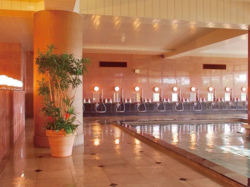 【大浴場】pH8.7!美人の湯のクレンジングでスベスベ!