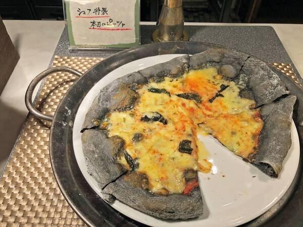 本日のピッツァ/例:多彩な料理♪