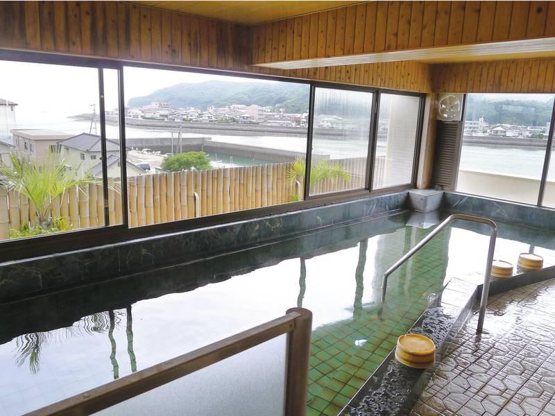 【展望大浴場】有明海を望む