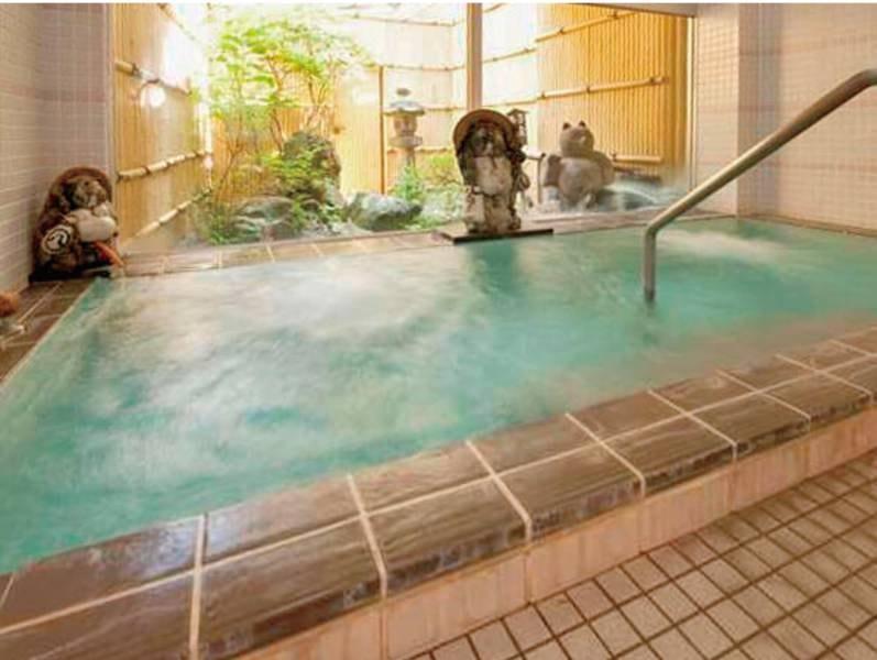 【貸切風呂】源泉掛け流しの湯を気兼ねなく楽しめる