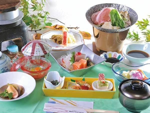 【夕食/例】菊池の美味しい水から生まれた会席料理