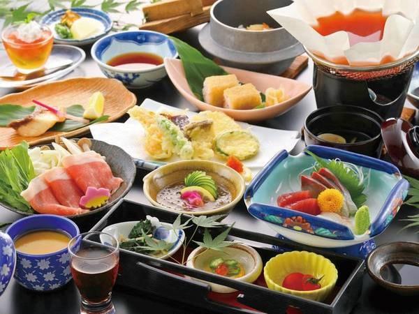 【夕食/例】お得に熊本玉名の味を堪能!
