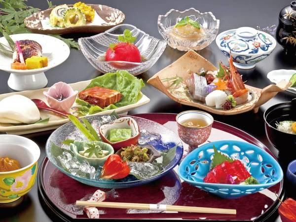 【創作和会席/例】 四季折々の食材を使用した月替わり懐石をご用意