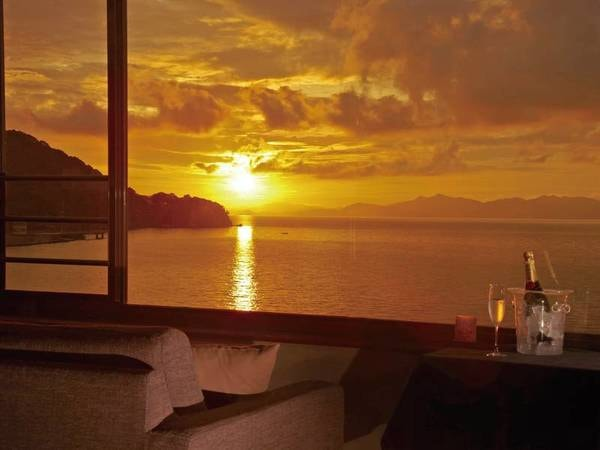美しい眺めと美味しい料理で心が満たされる…部屋眺望/例