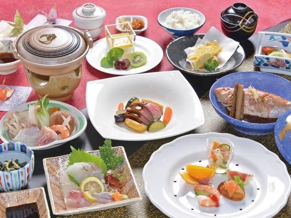 【夕食/例】水俣の海鮮を使った和洋会席