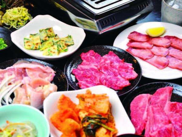 博多の人気焼肉店「都」の当宿支店。韓国焼肉料理を!/例