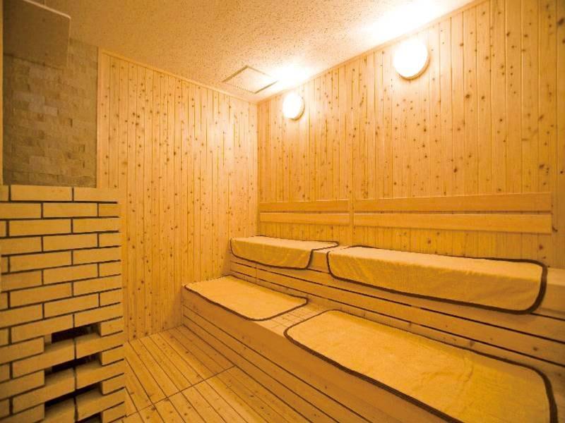 【サウナ】大浴場にサウナ・水風呂を完備