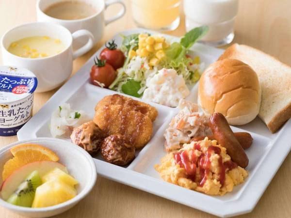 朝食和洋バイキング/例