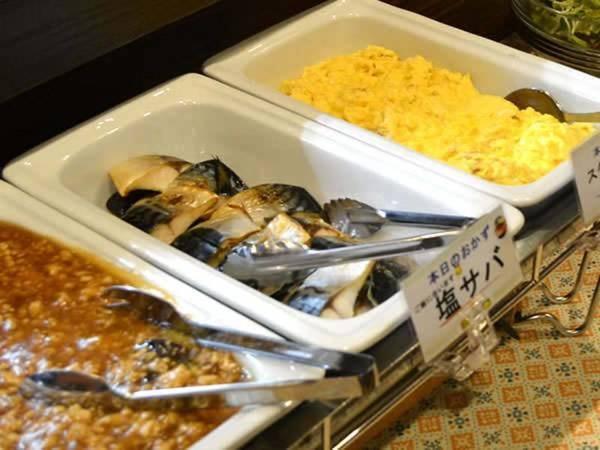 【朝食和洋バイキング/一例】日替わりの手作りメニュー