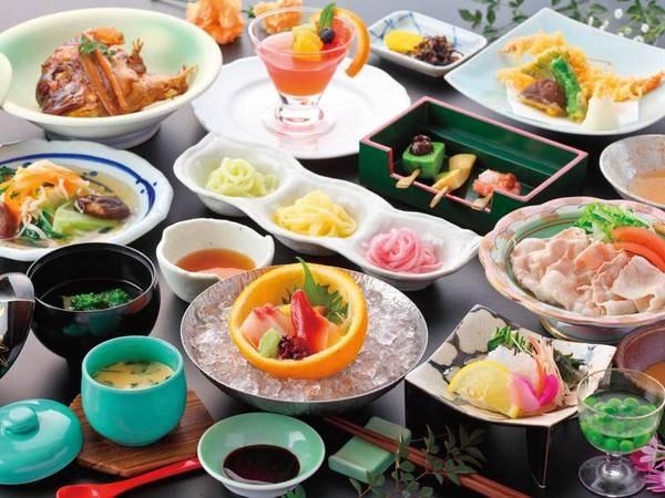【夕食/例】熊本の旬食材を使った和会席