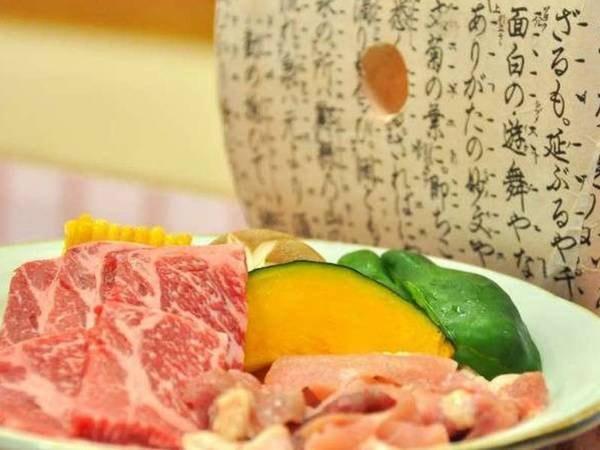 豊後牛&地鶏炭焼き/一例