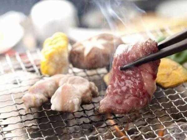 地鶏炭火焼プラン/一例