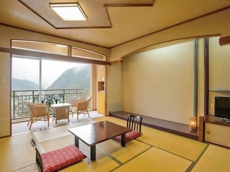 【和室/例】広縁付で、ゆったりとした広さの和室にご案内