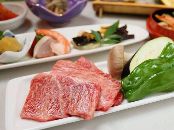 豊後牛の焼き肉/例