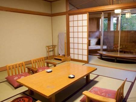 露天風呂付客室(由布岳側 12.5畳 )/一例