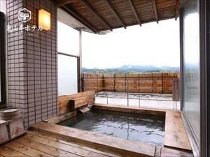 【ひなの湯】女性展望浴場併設露天風呂