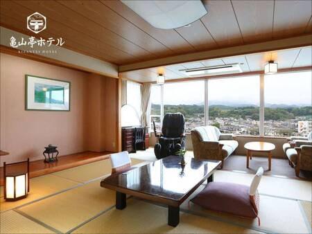 【601特別室[和室+ツインベット] 川側/例】