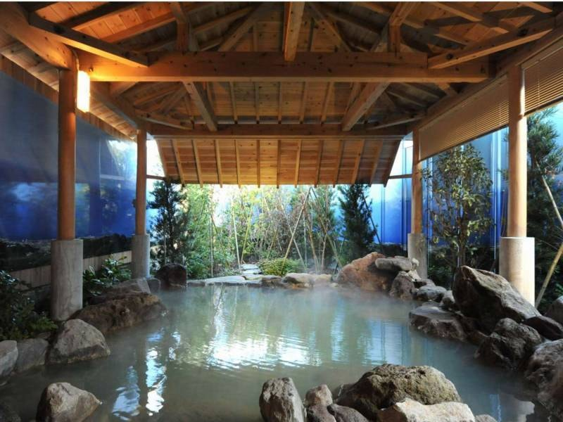 1階露天風呂