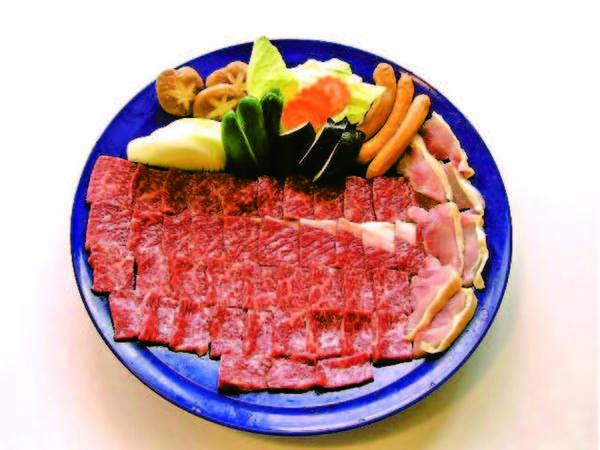 【選べる鍋料理/和牛例】①和牛すき焼き②和牛しゃぶ③豚しゃぶからグループ毎選択
