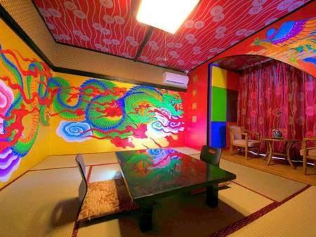 【リニューアルオープン】和室8畳花魁部屋 一例