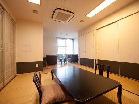 〔幸いの間〕客室55㎡ 10畳+リビング 一例
