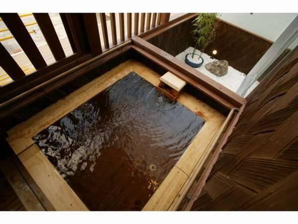 客室半露天風呂 一例