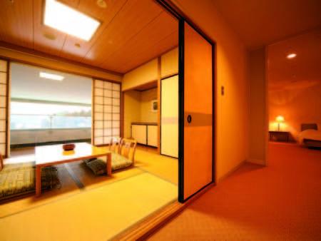 【和洋室/例】和室と洋室がセパレート。和室からは城島高原の自然を一望!
