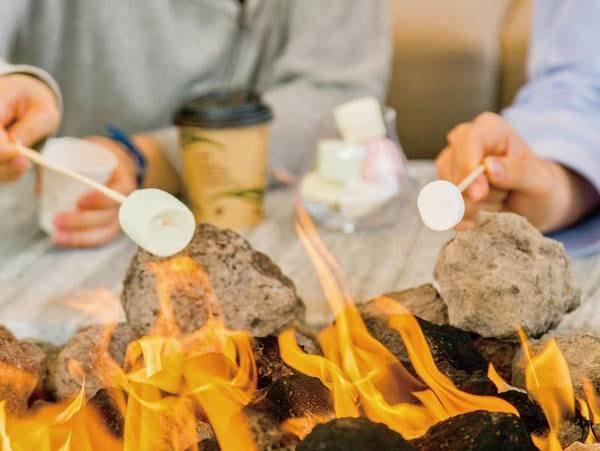 【焚火のリビング】コーヒー・マシュマロを無料サービス:宮崎市の珈琲豆専門店「なかはら珈琲工場」がTHE LIVING GARDENをイメージした挽き立てコーヒー