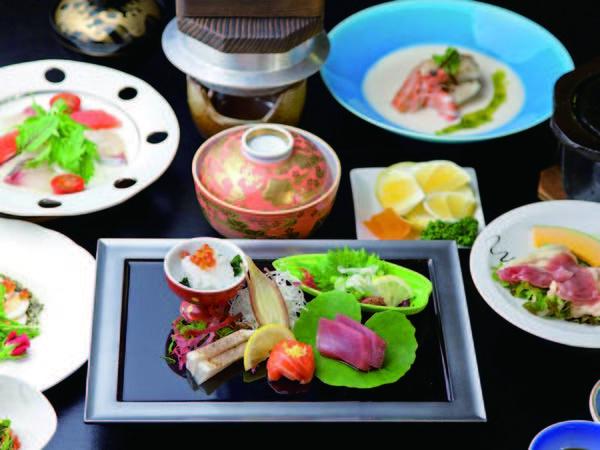 【料理一例】宮崎の旬食材が並ぶ♪