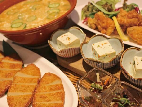 朝食バイキング/例:「宮崎の朝をもっと贅沢に!」をコンセプトに宮崎の地産地消に拘ったバイキング!料理長選りすぐりの宮崎産豚肉や鶏肉、魚介を提供