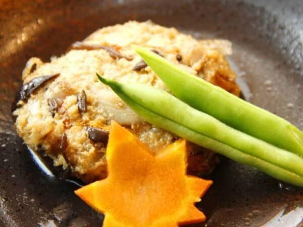 『えびの』の里山料理(がんもどき)/一例