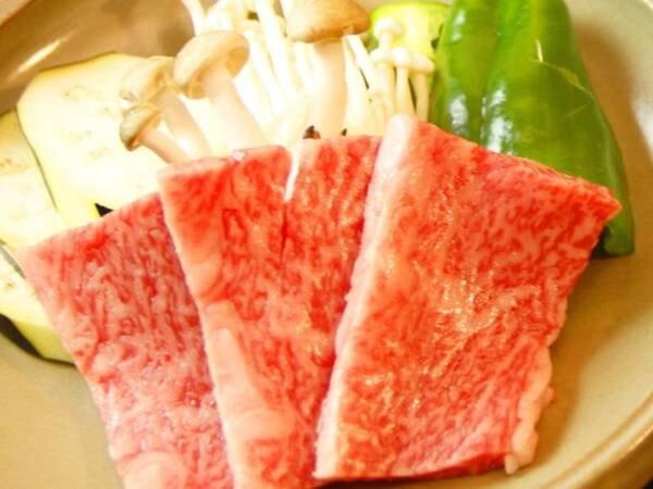 《宮崎牛の陶板焼き》にグレードアップ/一例