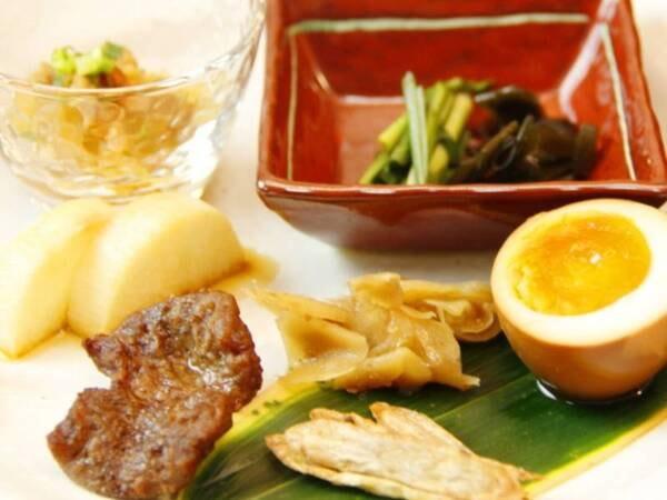 《うなぎの蒲焼》付プラン(里の前菜)/一例