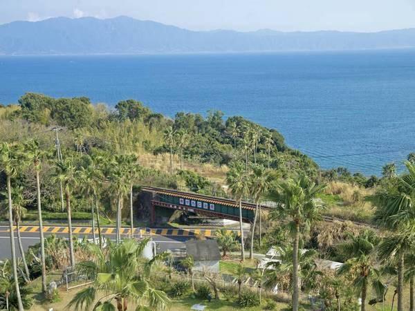 周辺風景/例 錦江湾、大隅半島が一望!