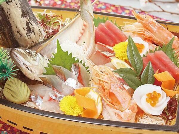 【うまいもん会席/例】贅沢な地場産旬魚の大漁船盛り!